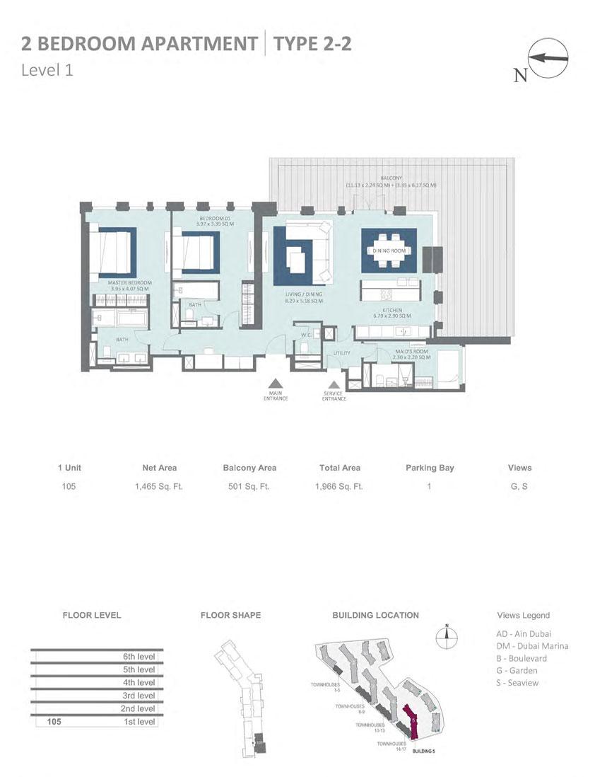 Floor Plans Meraas Bluewaters Residences Dubai,Fashion Design Universities